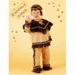 Piccolo sioux costume 2/3 anni