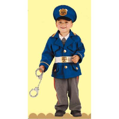 Poliziotto costume 1/2 anni