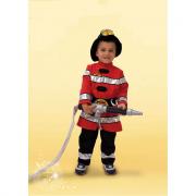 Pompiere costume 0/1 anni