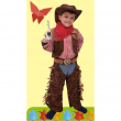 Far west costume 2/3 anni