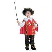 Moschettiere costume 2/3 anni