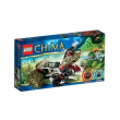 70001 Lego Chima - La Trivellatrice Artigliante di Crawley  7-14