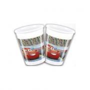 8 Bicchiere in plastica Cars 3