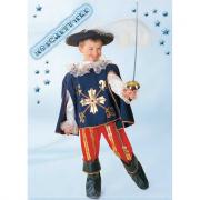 Moschettiere costume 7/8 anni