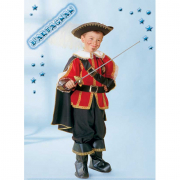 D'artagnan costume 3/4 anni