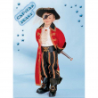 Capitan drake costume  3/4 anni