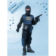 Costume G-Man Agente Fbitg. 7/8 anni
