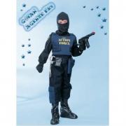 Costume G-Man Agente Fbitg. 11/12 anni