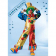 Costume Happy Clown tg. 7/8 anni