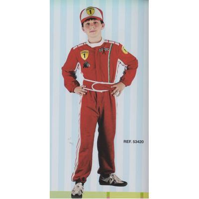 Costume pilota F1 7/8 anni