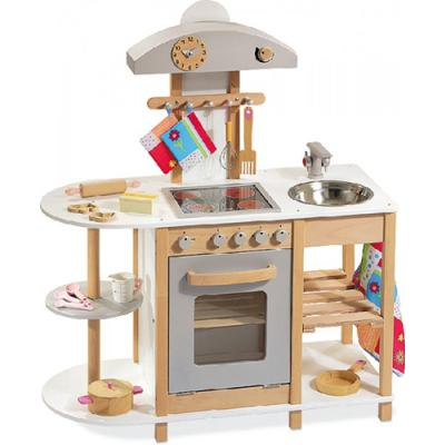 cucina in legno howa bianca per bambini