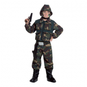 Special force costume 3/4 anni