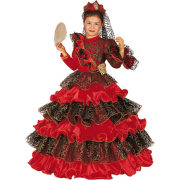 Spanish Dream costume 7/8 Anni