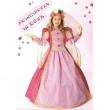 Costume Principessa in rosa tg. 3/4