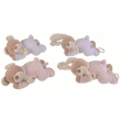 Orsetto/coniglio rosa/azzurro Nicotoy Baby carillon cm. 22