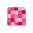 Tappeto patchwork akimi fucsia 100x00 cm.