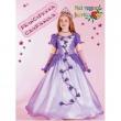 Costume Principessa Campanula tg. 5/6 anni