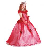 Principessa delle Rose costume 3/4 Anni