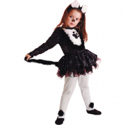 Gattina costume 5/6 anni