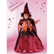 Costume strega Samantha 5/6 anni
