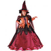 Strega Samantha costume 5/6 anni