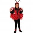 Coccinella costume 3/4 Anni