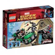 76004 Lego Super Heroes - Inseguimento sul Ragno-Ciclo 6-12 anni