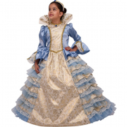 La principessa costume 7/8 anni