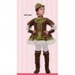 Sherwood Girl costume 5/6 anni