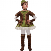 Sherwood Girl costume 3/4 anni