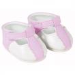 Scarpette rosa e bianche bambole Corolle cm. 36