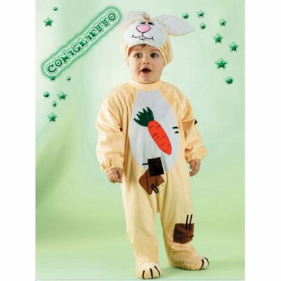 Coniglietto costume 1/2 anni