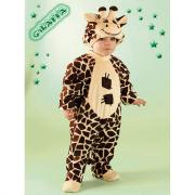 Giraffa costume 2/3 anni