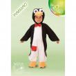 Pinguino costume 0/1 anni