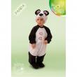 Panda costume 2/3 anni