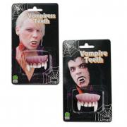 Dentiera in gomma 2 modelli assortitti