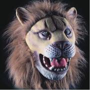 Maschera Leone in fingomma in busta con cavallotto