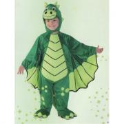 Marvin il drago costume 3/4 anni