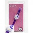 Orologio Hello Kitty con coperchio viola
