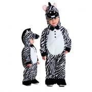Zebra costume 0/1 anni