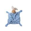 Coniglietto fazzoletto plume azzurro Kaloo cm. 25