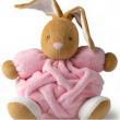 Coniglio plume rosa grande Kaloo cm. 25