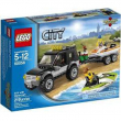 60058 Lego City Suv con moto d'acqua 5-12 anni