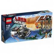 70802 Lego Movie - L'inseguimento di Poliduro 7-14 anni