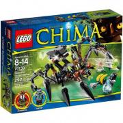 70130 Lego Chima Il ragno predatore di Sparratus 8-14 anni