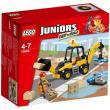 10666 Lego Juniors - Scavatrice 4-7 anni