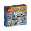 70229 Lego Chima Tribu' Dei Leoni 7-14 anni
