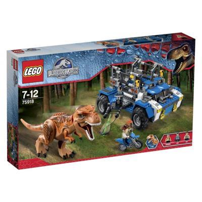 75918 Lego Jurassic world inseguimento t rex