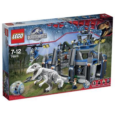 75919 Lego Jurassic world l'evasione di indominus rex