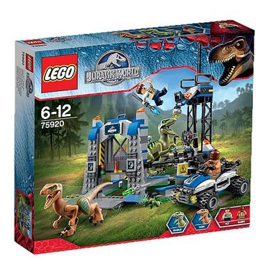 75920 Lego Jurassic world la fuga del raptor